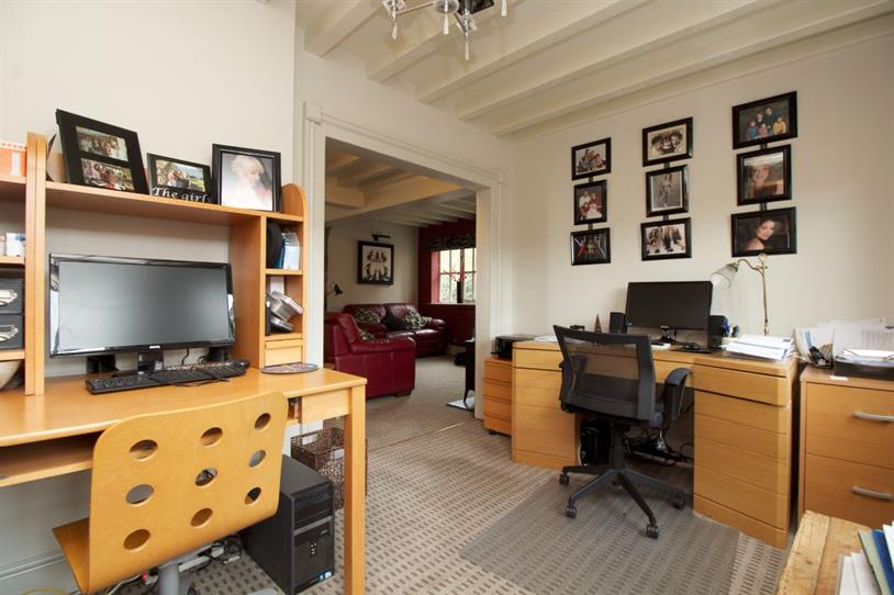 Downstairs office