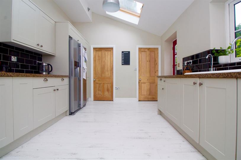 Rear of kitchen
